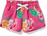 Old Navy Printed Linen-Blend Shorts for Toddler Girls