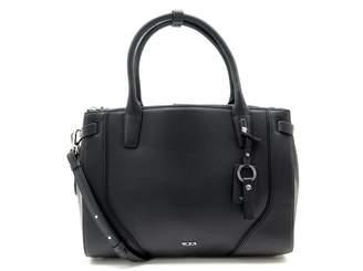 Tumi Black Leather Handbags