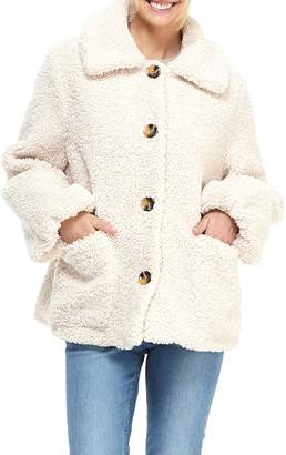 Gal Meets Glam Willa Teddy Bear Coat
