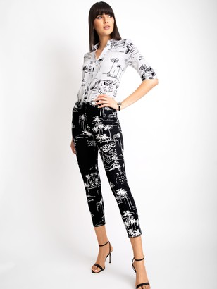 New York & Co. Tall Audrey High-Waisted Ankle Pant