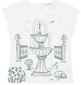 Dolce & Gabbana Women's Garden-Graphic T-Shirt-WHITE