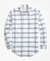 Brooks Brothers Regent Fit Oxford Check Sport Shirt