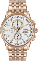 Citizen Rose Goldtone Chronograph Watch - Men