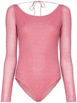 Oseree Lumiere long-sleeve swimsuit