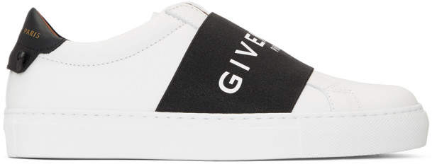 Givenchy White and Black Urban Knots Sneakers