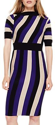 Damsel in a Dress Nadine Stripe Knitted Dress, Multi
