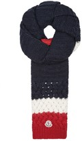 Moncler Chunky-knit Wool Blend Scarf