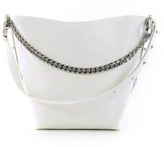 Rebecca Minkoff Handbag With Chain Handle White