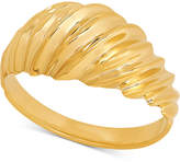 Macy's Textured Dome Ring in 10k Gold