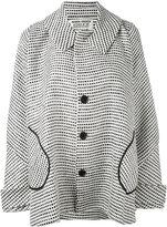 Henrik Vibskov squares oversized coat