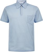 Sunlight Short-Sleeved Cotton Piqu㉠Polo Shirt