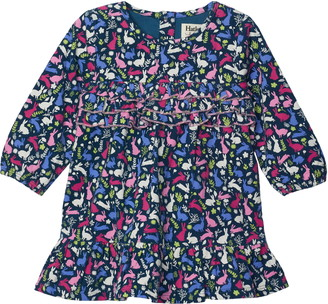 Hatley Forest Bunnies Corduroy Dress