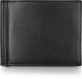 Giorgio Fedon Classica Collection - Black Calfskin Money Clip Wallet