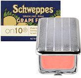 on10 Schweppes Sparkling Pink Grapefruit Lip Balm SPF 15