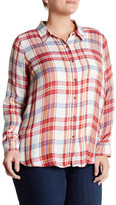 Lucky Brand Bungalow Plaid Shirt (Plus Size)