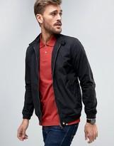 Pretty Green Dalton Harrington Jacket Slim Fit in Black