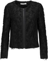 Jonathan Simkhai Fringed crepe jacket