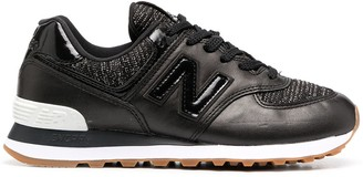 New Balance Black Low-Top Trainers