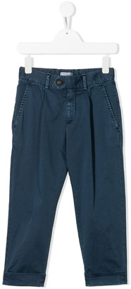BRUNELLO CUCINELLI KIDS Casual Tailored Trousers