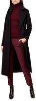 Hobbs Lottie Long Tailored Coat, Black