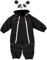Mini Rodini Double Zip Hooded Panda Snowsuit