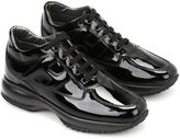 Hogan Patent Leather Interactive Sneakers