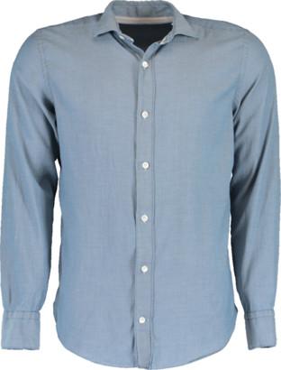 Eleventy Stretch Cotton Pique Shirt
