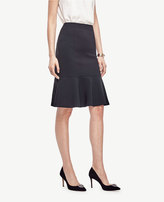 Ann Taylor Fluted Midi Skirt