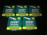 "Derby 500 Professional"" Single Edge Razor Blades for straight razor"