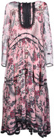 Chloé Chloé Floral Tiered Maxi Dress