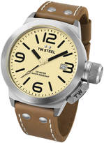 TW Steel CS11 Canteen Leather Watch