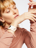 Free People Patched Leather Cuff