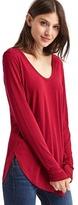 Gap Scoop neck long sleeve tunic