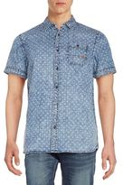 Buffalo David Bitton Somers Denim Sportshirt