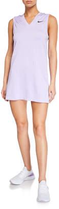 Nike x Maria Sharapova Knit V-Neck Tennis Dress