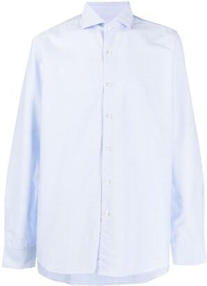Xacus Spread-Collar Poplin Shirt