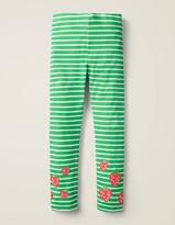 Fun Embroidered Leggings