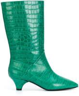 Marni kitten heel boots