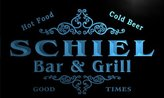 AdvPro Name u39790-b SCHIEL Family Name Bar & Grill Home Brew Beer Neon Sign