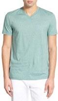 Lacoste Stripe V-Neck T-Shirt (Nordstrom Exclusive)