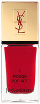 Saint Laurent 'La Laque Couture' Nail Lacquer - 1 Rouge Pop Art