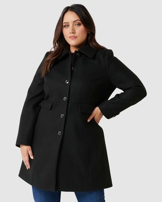 Forever New Curve Emily Curve Dolly Coat