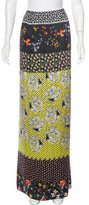 Christian Lacroix Silk Maxi Skirt w/ Tags