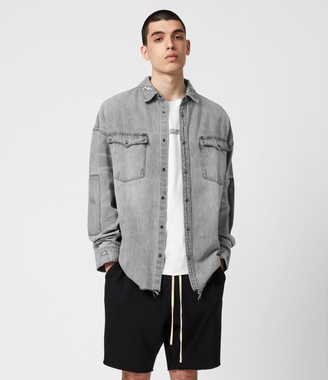 AllSaints Solara Denim Shirt