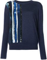 Prabal Gurung sequin embellished jumper - women - Silk/Cashmere/Sequin - S