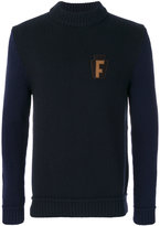 Salvatore Ferragamo high neck jumper