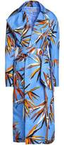 Emilio Pucci Printed Shell Trench Coat