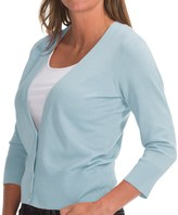 Pendleton Can-Do Cardigan Sweater- 3/4 Sleeve (For Women)