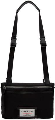 Givenchy Black Downtown Flat Crossbody Bag