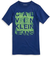 Calvin Klein Jeans Boys 8-20 Boys Abstract Logo Tee